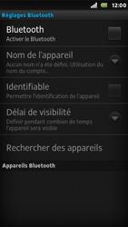 Sony ST25i Xperia U - Bluetooth - connexion Bluetooth - Étape 8