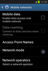 Samsung S6790 Galaxy Fame Lite - Internet - Enable or disable - Step 7