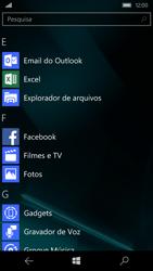 Microsoft Lumia 550 - Email - Como configurar seu celular para receber e enviar e-mails - Etapa 2