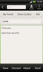 HTC T328e Desire X - E-mail - Sending emails - Step 9