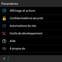 BlackBerry Classic - Internet - Configuration manuelle - Étape 15
