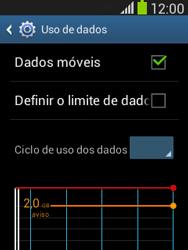 Samsung S5310B Galaxy Pocket Neo - Rede móvel - Como ativar e desativar uma rede de dados - Etapa 5
