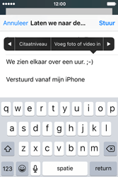 Apple iPhone 4 S iOS 9 - E-mail - Hoe te versturen - Stap 10