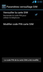 Bouygues Telecom Bs 401 - Sécuriser votre mobile - Personnaliser le code PIN de votre carte SIM - Étape 10