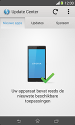 Sony D2005 Xperia E1 - Software update - update installeren zonder PC - Stap 6