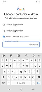 Samsung Galaxy A50 - Applications - Create an account - Step 11