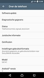 Sony Xperia XZ Premium - Software update - update installeren zonder PC - Stap 5