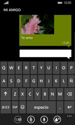 Nokia Lumia 635 - Mensajería - Escribir y enviar un mensaje multimedia - Paso 13