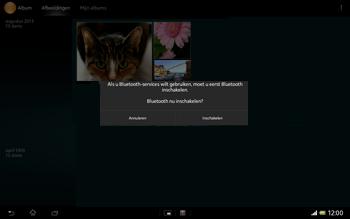 Sony SGP321 Xperia Tablet Z LTE - Contacten en data - Foto