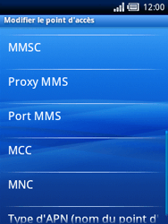 Sony Ericsson Xperia X10 Mini - Mms - Configuration manuelle - Étape 9