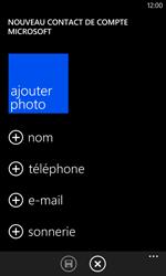 Nokia Lumia 625 - Contact, Appels, SMS/MMS - Ajouter un contact - Étape 5