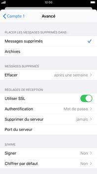 Apple iPhone 8 Plus - iOS 13 - E-mail - Configuration manuelle - Étape 22