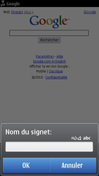 Nokia N8-00 - Internet - navigation sur Internet - Étape 5