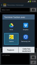 Samsung Galaxy Grand 2 4G - Contact, Appels, SMS/MMS - Envoyer un MMS - Étape 16
