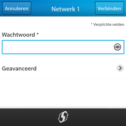 BlackBerry Q5 - WiFi en Bluetooth - Handmatig instellen - Stap 8