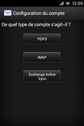 Sony C1505 Xperia E - E-mail - Configuration manuelle - Étape 7