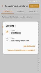 Samsung Galaxy A5 (2017) (A520) - Mensajería - Escribir y enviar un mensaje multimedia - Paso 6