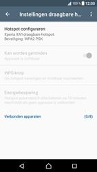 Sony Xperia XA1 (G3121) - WiFi - Mobiele hotspot instellen - Stap 10