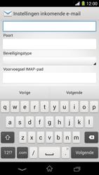 Sony C6903 Xperia Z1 - E-mail - Handmatig instellen - Stap 9