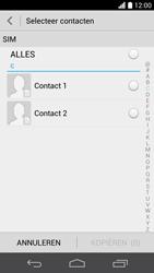 Huawei Ascend P6 (Model P6-U06) - Contacten en data - Contacten kopiëren van SIM naar toestel - Stap 7