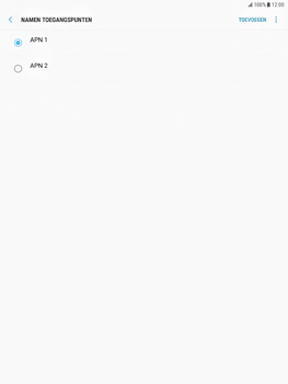 Samsung Galaxy Tab S2 9.7 - Android Nougat - Internet - Handmatig instellen - Stap 16