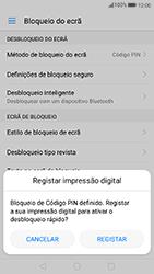 Huawei P8 Lite (2017) - Segurança - Como ativar o código de bloqueio do ecrã -  10