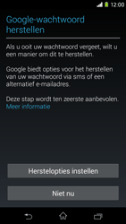 Sony D2303 Xperia M2 - Applicaties - Account aanmaken - Stap 12