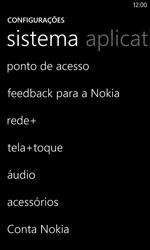 Nokia Lumia 520 - Internet - Como configurar seu celular para navegar através de Vivo Internet - Etapa 4
