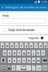 Samsung Galaxy Young II - Email - Configurar a conta de Email -  16