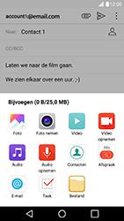 LG G5 SE (H840) - Android Nougat - E-mail - Bericht met attachment versturen - Stap 12