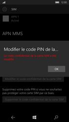 Microsoft Lumia 650 - Sécuriser votre mobile - Personnaliser le code PIN de votre carte SIM - Étape 11