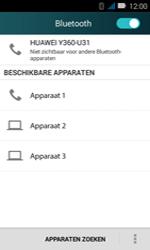 Huawei Y3 - Bluetooth - koppelen met ander apparaat - Stap 8