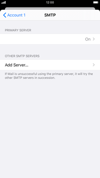 Apple iPhone 6s Plus - iOS 13 - Email - Manual configuration - Step 20