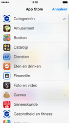 Apple iPhone 5 met iOS 7 - Applicaties - Downloaden - Stap 5