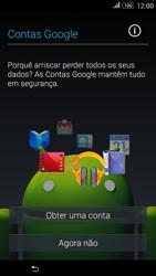 Sony Xperia E4 - Primeiros passos - Como ligar o telemóvel pela primeira vez -  8
