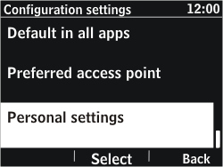 Nokia Asha 302 - Mms - Manual configuration - Step 5