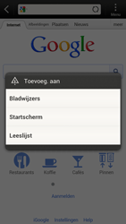HTC S720e One X - Internet - hoe te internetten - Stap 5