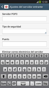 Samsung Galaxy Note 3 - E-mail - Configurar correo electrónico - Paso 9