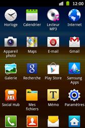 Samsung S6500D Galaxy Mini 2 - Wifi - configuration manuelle - Étape 2