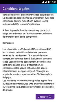 OnePlus 2 - Applications - MyProximus - Étape 10