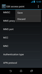 HTC Desire 310 - MMS - Manual configuration - Step 15