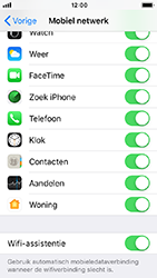 Apple iPhone 5s - iOS 12 - wifi - schakel Wi-Fi Assistentie uit - stap 5