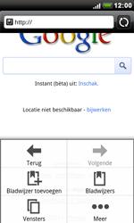 HTC S510e Desire S - Internet - Hoe te internetten - Stap 5