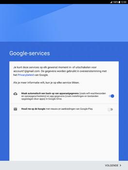 Samsung Galaxy Tab S2 9.7 (T815) - Android Nougat - Applicaties - Account aanmaken - Stap 17