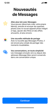 Apple iPhone XR - MMS - envoi d'images - Étape 2