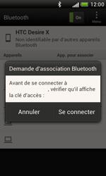 HTC T328e Desire X - Bluetooth - Jumeler avec un appareil - Étape 8