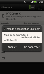 HTC T328e Desire X - Bluetooth - connexion Bluetooth - Étape 10