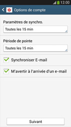 Samsung I9195 Galaxy S IV Mini LTE - E-mail - Configuration manuelle - Étape 15