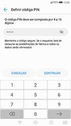 Huawei P8 Lite (2017) - Segurança - Como ativar o código de bloqueio do ecrã -  7