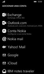 Nokia Lumia 530 - Email - Configurar a conta de Email -  7